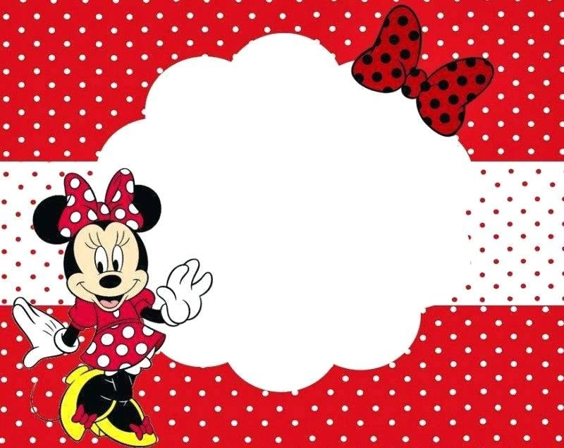 7 Free And Cute Minnie Mouse Printables For Birthday Parties
