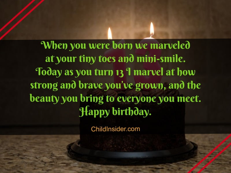 21 Unique Happy 13th Birthday Girl Text Messages