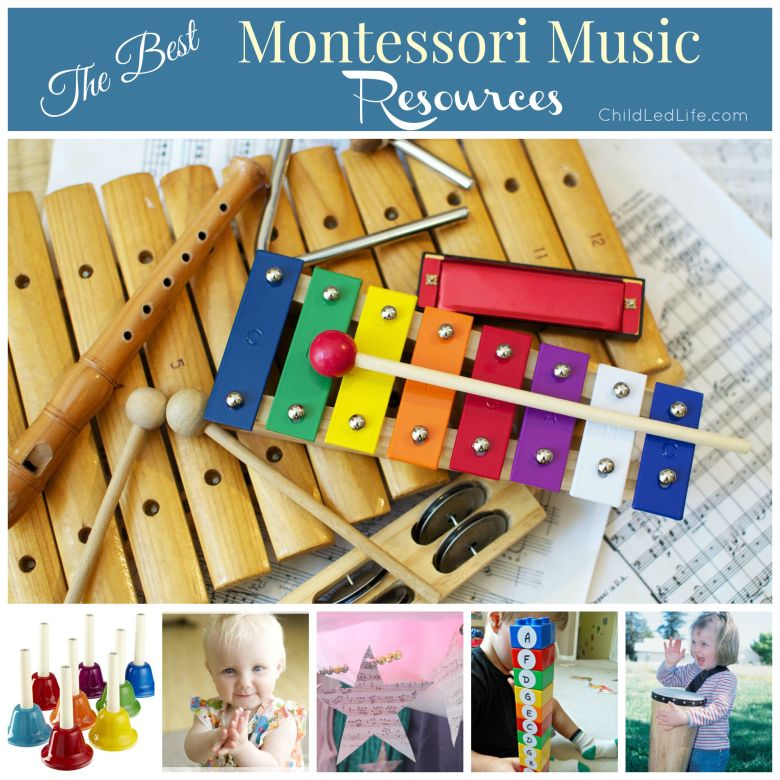 the best montessori music resources - child led life