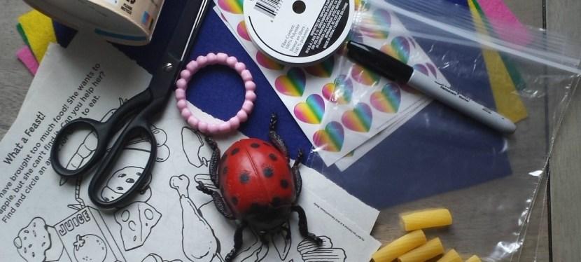 DIY Travel Kit For Toddlers