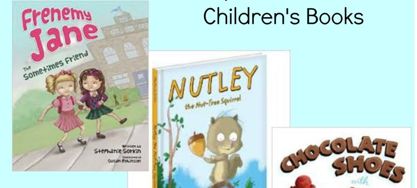 Spotlight and Giveaway on Three Fantastic Children's Books