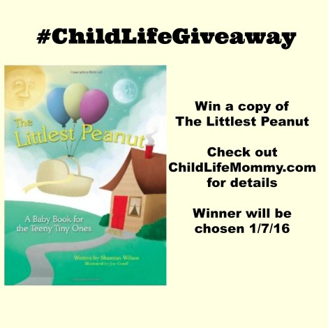 The Littlest Peanut Giveaway