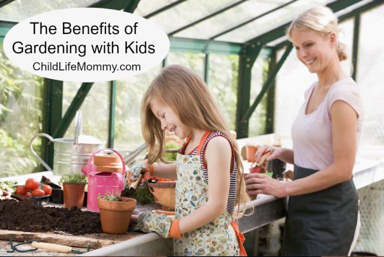 Benefits fo Gardening with Kids
