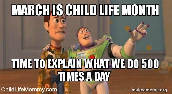 Celebrating Child Life Month