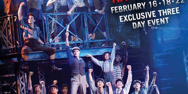 Giveaway on Newsies: The Broadway Musical
