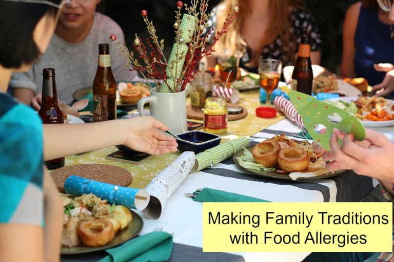 Making Family Traditions with Food Allergies