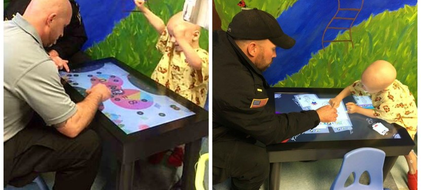 The Gaming Treatment: Pediatric patients use technology-based games to manage stress