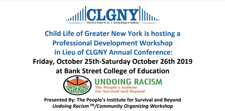 Undoing Racism: Child Life Professional Development Workshop
