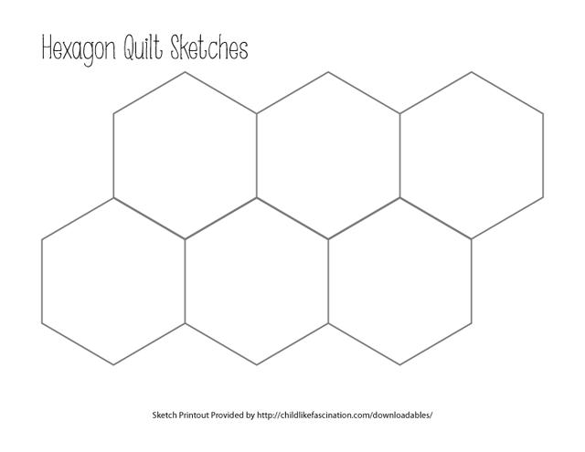 Number Names Worksheets pentagon octagon hexagon : Hexagon Template. shapes polygons pentagon hexagon heptagon ...