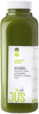 Sweet Spin - my favorite of the green drinks