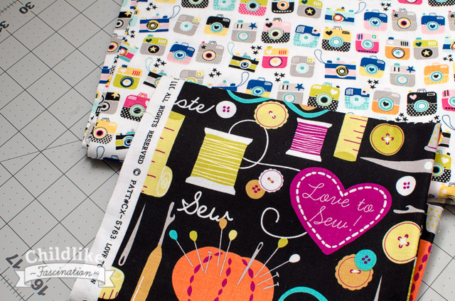 Fun fabrics from my stash