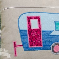 Shabby Chic Shasta Lightning Bolt Camper Pattern Update