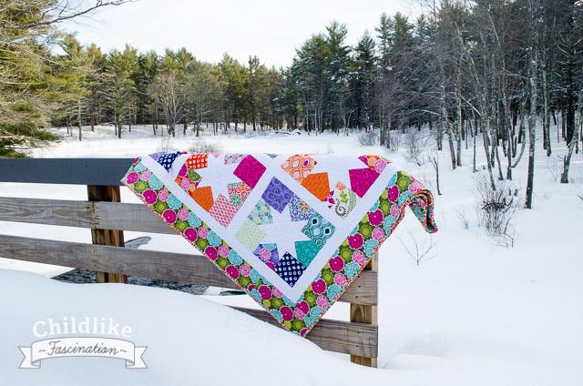 Wishing on Spring Stars - Full Size Quilt