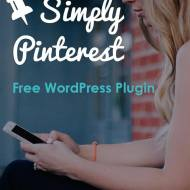 Simply Pinterest – A Free WordPress Plugin