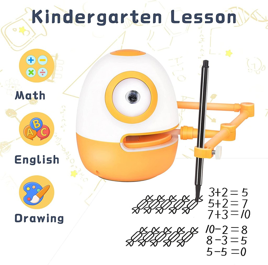 Writing-Drawing & Assistant Robots For Your Child