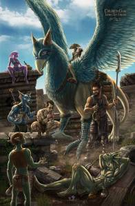 Children of Gaia: Taming New Friends - Illustrated by Jayel Draco