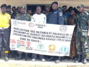 Mobilisation des militaires et policiers