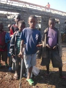 CV Kibati enfant Janvier Kitoko blesse de guerre2