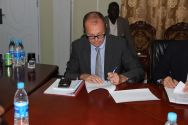 UNICEF Representative in South Sudan, Jonathan Veitch, witnessed the agreement. ©OSRSG-CAAC