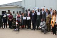 The Minister of Defence, SPLA commanders and United Nations colleague showed their support for the campaign Children, Not Soldiers.©OSRSG-CAAC