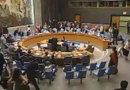 Le Conseil de sécurité des Nations Unies adopte la résolution 1882. Copyrights: Photo ONU