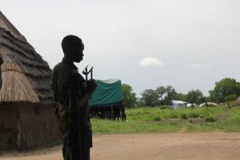Un enfant recruté par un groupe armé au Soudan du Sud. © OSRSG-CAAC