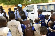 African Union-UN mission launches campaign in west Darfur against use of child soldiers