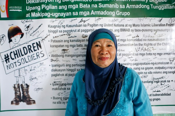 Philippines: Ending Use and Recruitment of Children for the Future of the Bangsamoro People