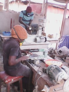 Workers craft-making
