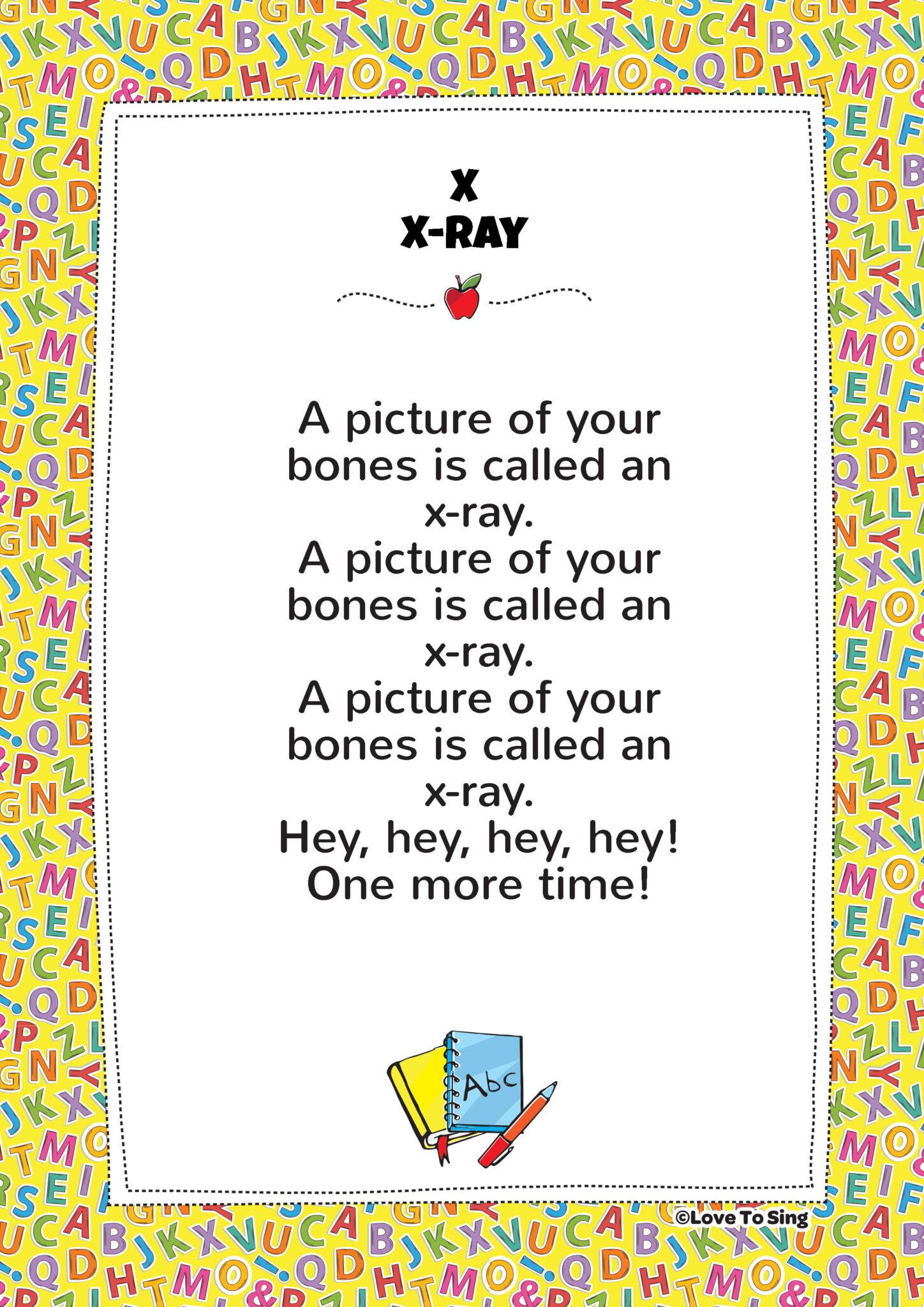 X Ray Phonics Song