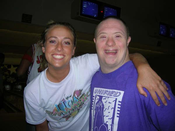 Kristin with ARC buddy