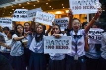 Photo from Rappler. Students of SSC, MLA.