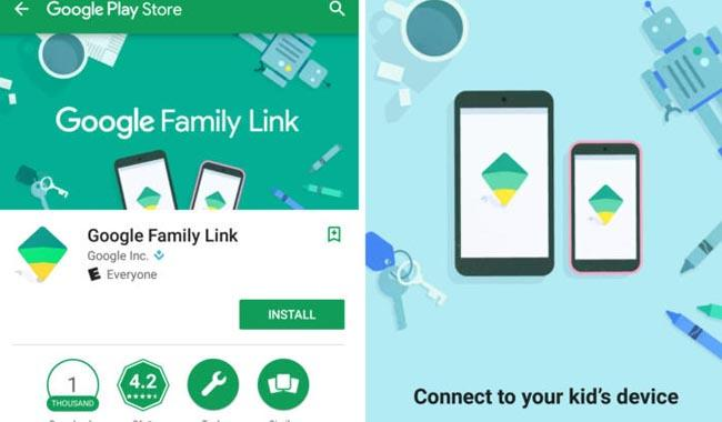 Children of the Digital Age - Google Family Link Parental Control Guide