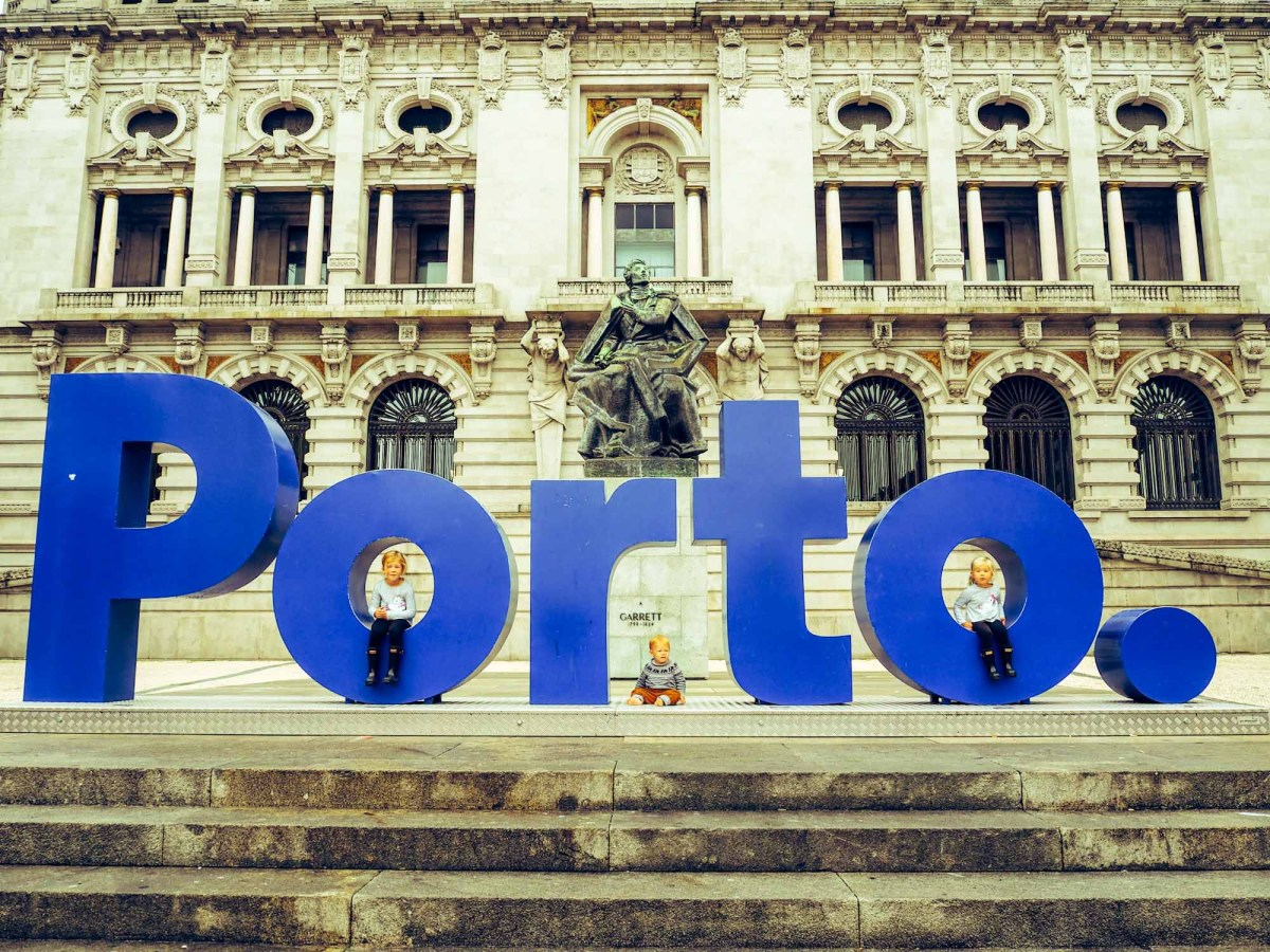 A Day Trip with Children to Porto