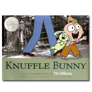 Knuffle Bunny - 5 Of our Favorite Children's Rabbit Books and Crafts - Sharing our favorite books and one adorable craft to go with each book. Perfect for Easter and International Rabbit Day.