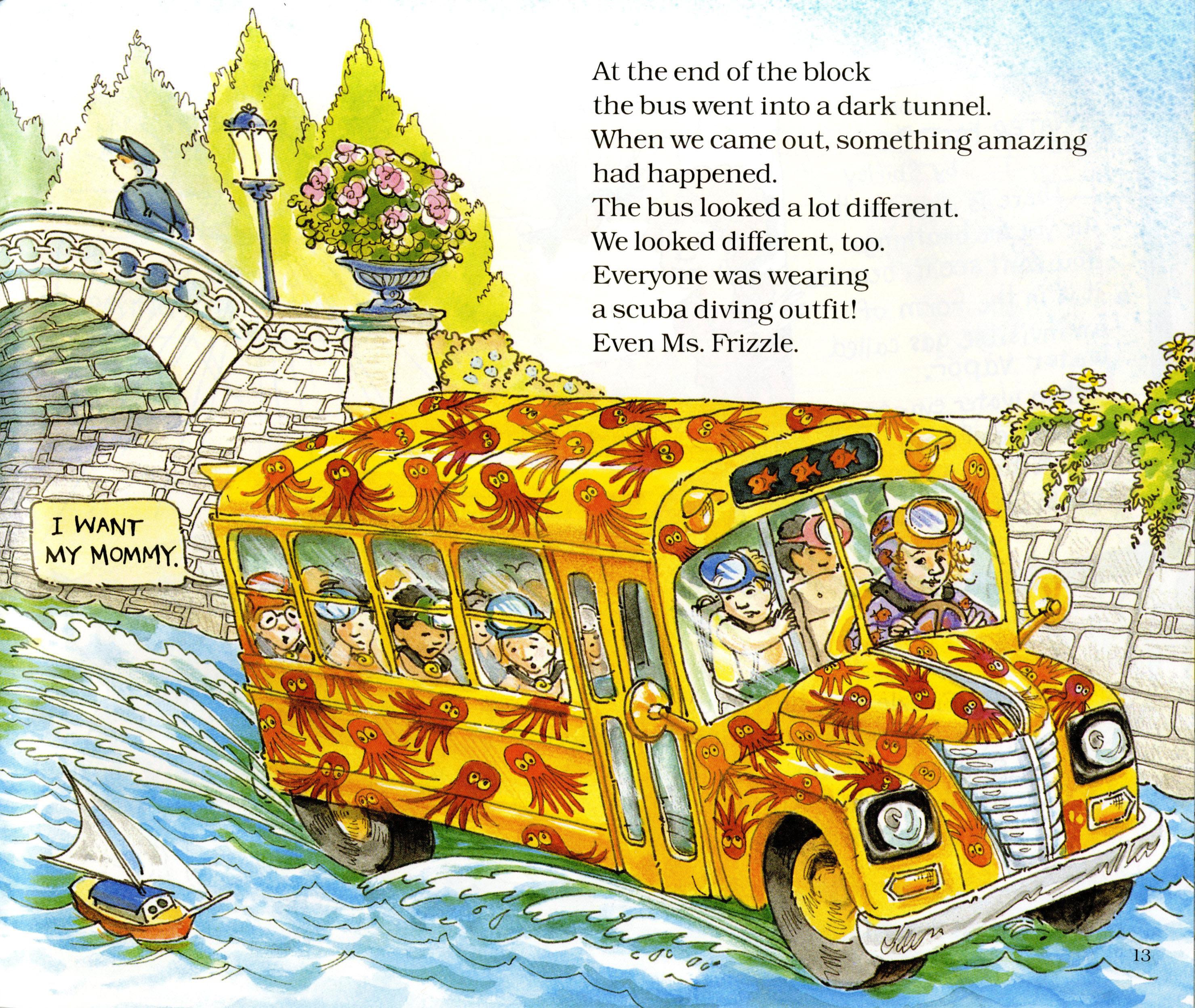 The Magic School Bus Book A Day Almanac