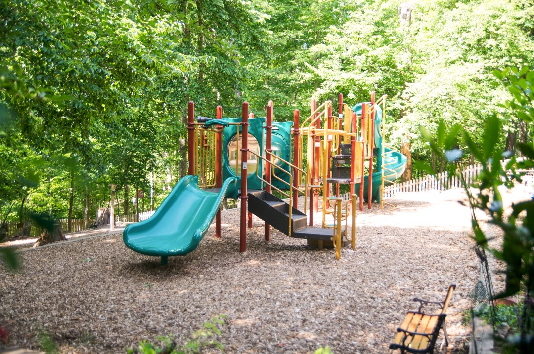 Playground at Children's House Montessori School of Reston