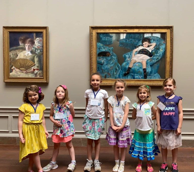 Children on a field trip - cost included in tuition