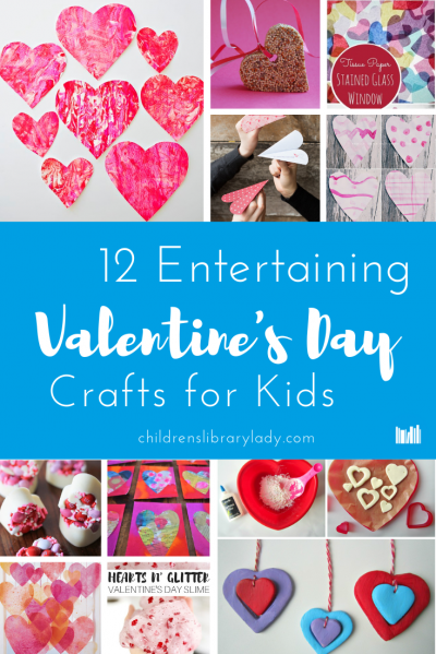 12 Entertaining Valentine's Day Crafts for Kids
