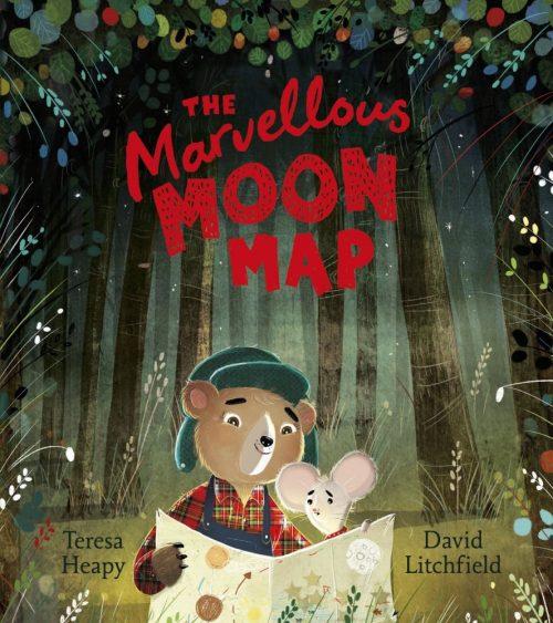The Marvellous Moon Map - Teresa Heapy