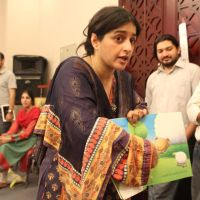 Nadia Jamil in Childrens literature festival