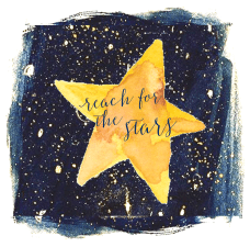 gala logo - reach for the stars