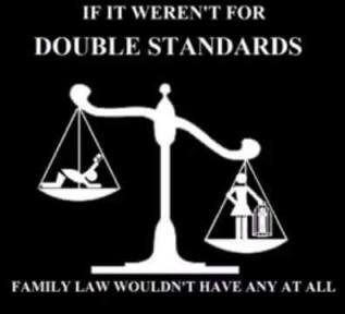 Double Standards in Family Courts - 2016