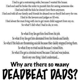 Deadbeat Dad Myth - 2016