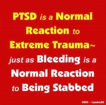 PTSD-REACTION OF TRAUMA - 2016