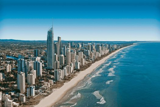 Gold Coast, Beachfront