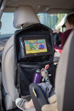 ZIP UP ORGANISER WITH TABLET HOLDER