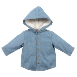 Bebe Riley CHambray shirt
