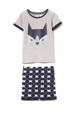 Milky Fox Summer Pyjamas