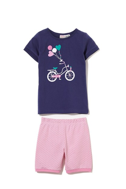 Milky Bicycle Summer Pyjamas